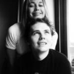 ビリーと前妻のクリスティーナ 1993年